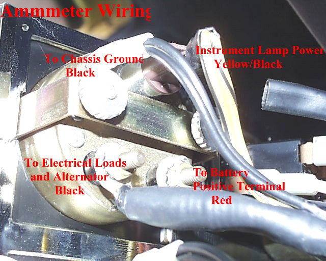 Sunpro Ammeter Wiring Diagram - WIRE Center • on boat alternator wiring diagram, ignition switch wiring diagram, trunk mounted battery wiring diagram, 3 wire alternator wiring diagram, one wire alternator wiring diagram, delco alternator wiring diagram, alternator warning light wiring diagram, alternator head wiring diagram, msd 6al wiring diagram, 4 wire alternator wiring diagram, speedometer wiring diagram,