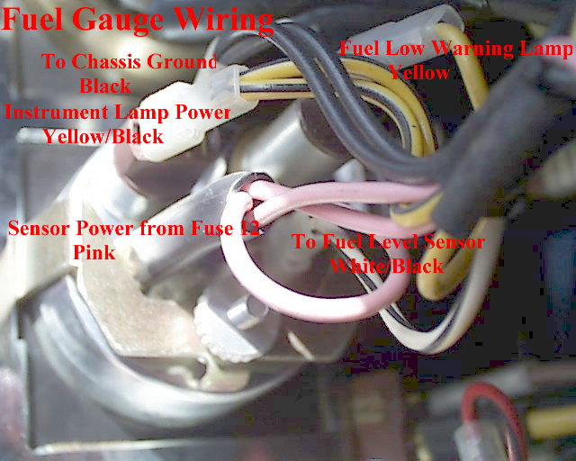 Fuel Gauge Wiring electrical diagrams fuel gauge wiring diagram download at soozxer.org