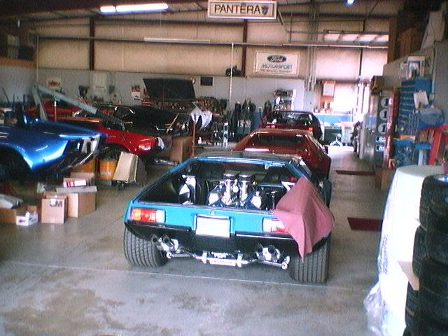 Webers on a 460 - Club Cobra